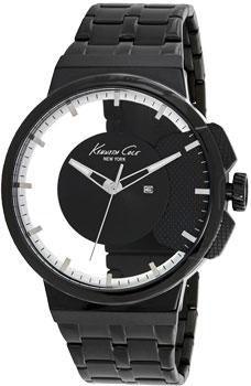 fashion наручные  мужские часы Kenneth Cole 10020856. Коллекция Transparency