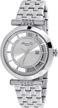 fashion наручные  женские часы Kenneth Cole 10021103. Коллекция Transparency