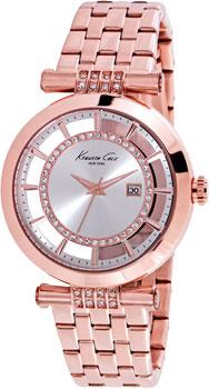 fashion наручные  женские часы Kenneth Cole 10021106. Коллекция Transparency