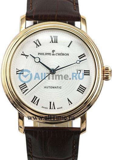 Мужские наручные золотые часы в коллекции Templar Philippe de Cheron