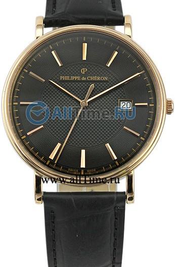 Мужские наручные швейцарские часы в коллекции Crusader Philippe de Cheron