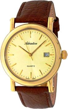 Швейцарские наручные  мужские часы Adriatica 1007.1211Q. Коллекция Gents