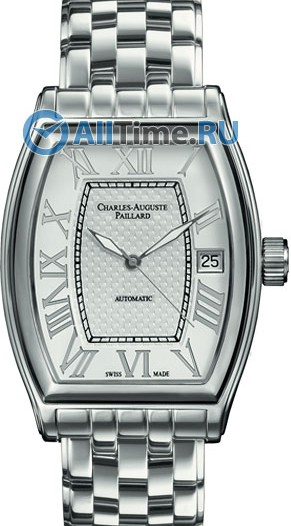 Мужские наручные швейцарские часы в коллекции Classic Tonneau Charles-Auguste Paillard