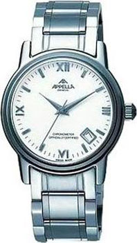 Швейцарские наручные  мужские часы Appella 1011A-3001. Коллекция Automatic