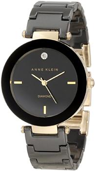 fashion наручные  женские часы Anne Klein 1018BKBK. Коллекция Diamond