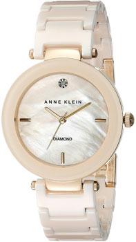 fashion наручные  женские часы Anne Klein 1018IVGB. Коллекция Diamond