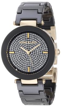 fashion наручные  женские часы Anne Klein 1018PVBK. Коллекция Ceramics