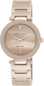 fashion наручные  женские часы Anne Klein 1018TNGB. Коллекция Diamond
