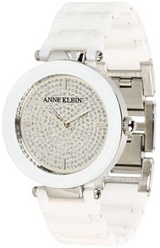fashion наручные  женские часы Anne Klein 1019PVWT. Коллекция Ceramics