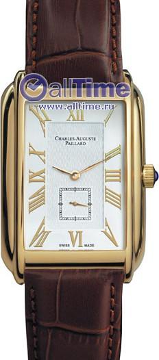 Мужские наручные швейцарские часы в коллекции Rectangular quartz Charles-Auguste Paillard