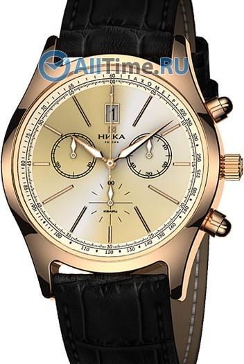 Мужские наручные золотые часы в коллекции Георгин Ника
