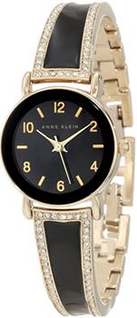 fashion наручные  женские часы Anne Klein 1028BKGB. Коллекция Crystal
