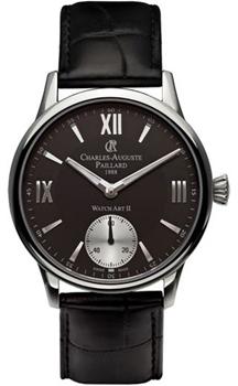 Швейцарские наручные  мужские часы Charles Auguste Paillard 103.301.11.35S. Коллекция Watch Art II