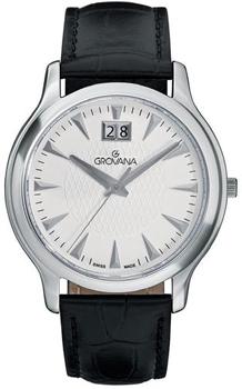 Швейцарские наручные  мужские часы Grovana 1030.1532. Коллекция Traditional