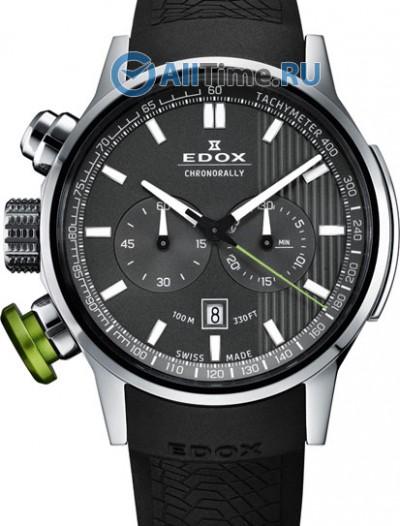 Мужские наручные швейцарские часы в коллекции Chronorally Edox