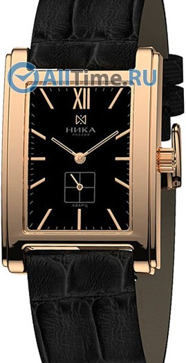 Мужские наручные золотые часы в коллекции Megapolis Ника