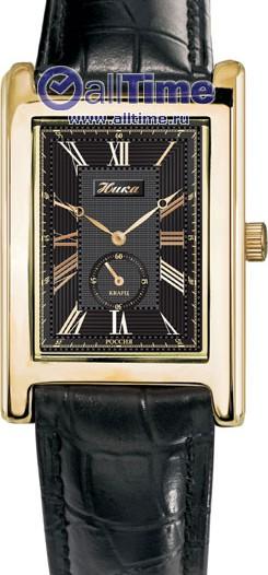 Мужские наручные золотые часы в коллекции Кипарис Ника