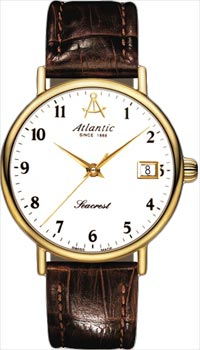 Швейцарские наручные  женские часы Atlantic 10351.45.13. Коллекция Seacrest