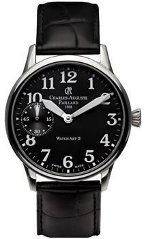 Швейцарские наручные  мужские часы Charles Auguste Paillard 104.302.11.30S. Коллекция Watch Art II