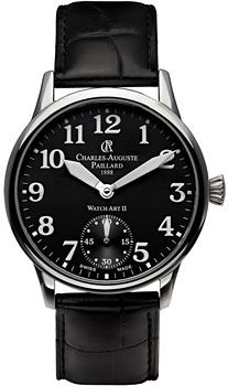 Швейцарские наручные  мужские часы Charles Auguste Paillard 104.303.11.30S. Коллекция Watch Art II