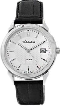 Швейцарские наручные  мужские часы Adriatica 1064.5213Q. Коллекция Gents