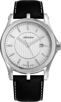 Швейцарские наручные  мужские часы Adriatica 1094.5213Q. Коллекция Gents