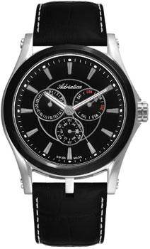 Швейцарские наручные  мужские часы Adriatica 1094.Y214QF. Коллекция Multifunction