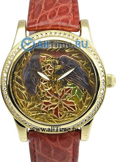 Женские наручные золотые часы в коллекции Exclusive Ника