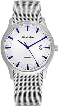 Швейцарские наручные  мужские часы Adriatica 1100.51B3Q. Коллекция Classic