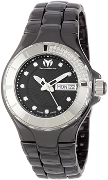 Швейцарские наручные  женские часы Technomarine 110027C. Коллекция Cruise Ceramic