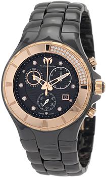 Швейцарские наручные  женские часы Technomarine 110032C. Коллекция Cruise Ceramic