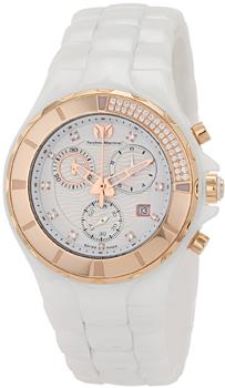 Швейцарские наручные  женские часы Technomarine 110033C. Коллекция Cruise Ceramic