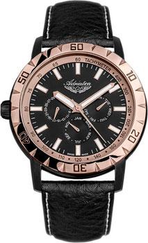 Швейцарские наручные  мужские часы Adriatica 1108.K214QF. Коллекция Multifunction