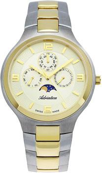 Швейцарские наручные  мужские часы Adriatica 1109.2151QF. Коллекция Multifunction