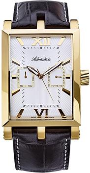 Швейцарские наручные  мужские часы Adriatica 1112.1263QF. Коллекция Multifunction