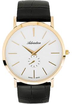 Швейцарские наручные  мужские часы Adriatica 1113.1213Q. Коллекция Gents