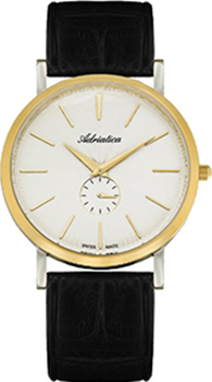 Швейцарские наручные  мужские часы Adriatica 1113.2213Q. Коллекция Gents