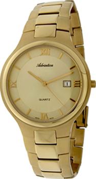 Швейцарские наручные  мужские часы Adriatica 1114.1161Q. Коллекция Gents