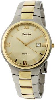 Швейцарские наручные  мужские часы Adriatica 1114.2161Q. Коллекция Gents