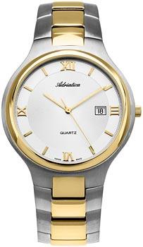 Швейцарские наручные  мужские часы Adriatica 1114.2163Q. Коллекция Gents