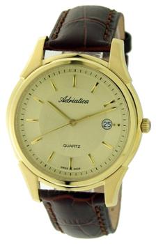 Швейцарские наручные  мужские часы Adriatica 1116.1211Q. Коллекция Gents