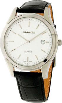 Швейцарские наручные  мужские часы Adriatica 1116.5213Q. Коллекция Twin
