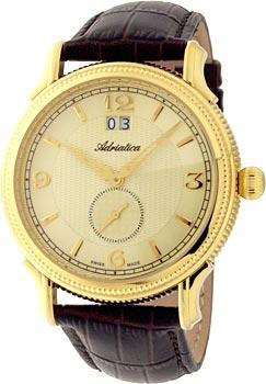 Швейцарские наручные  мужские часы Adriatica 1126.1251Q. Коллекция Gents