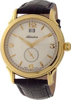 Швейцарские наручные  мужские часы Adriatica 1126.1253Q. Коллекция Gents