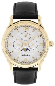 Швейцарские наручные  мужские часы Adriatica 1126.1253QF. Коллекция Multifunction
