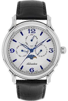 Швейцарские наручные  мужские часы Adriatica 1126.52B3QF. Коллекция Multifunction