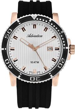 Швейцарские наручные  мужские часы Adriatica 1127.R213Q. Коллекция Gents