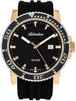 Швейцарские наручные  мужские часы Adriatica 1127.R214Q. Коллекция Gents