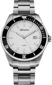 Швейцарские наручные  мужские часы Adriatica 1139.5113Q. Коллекция Gents