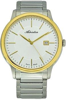 Швейцарские наручные  мужские часы Adriatica 1144.2113Q. Коллекция Gents